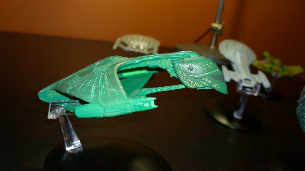 Romulan Warbird Eaglemoss model