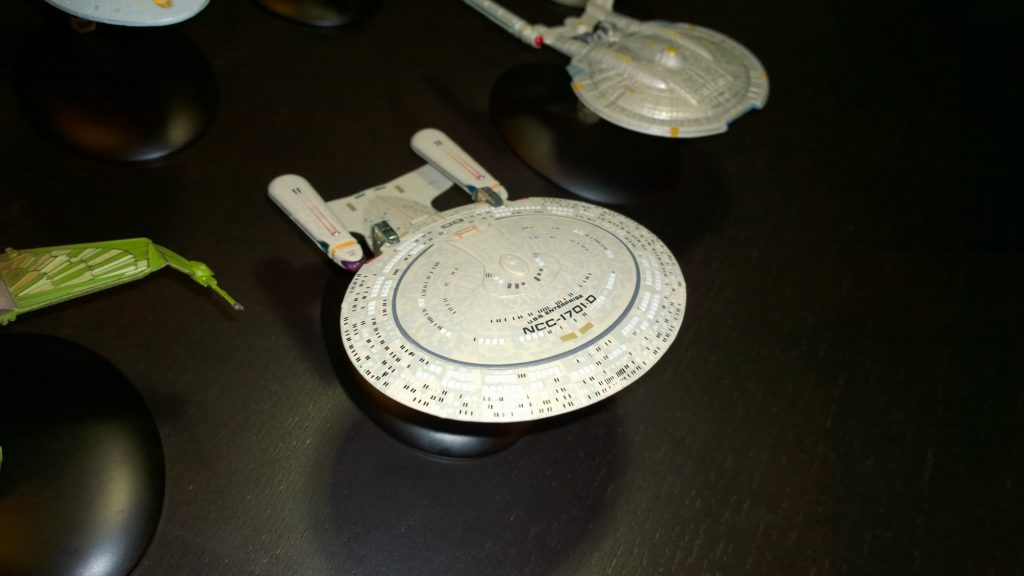 Enterprise-D Eaglemoss model