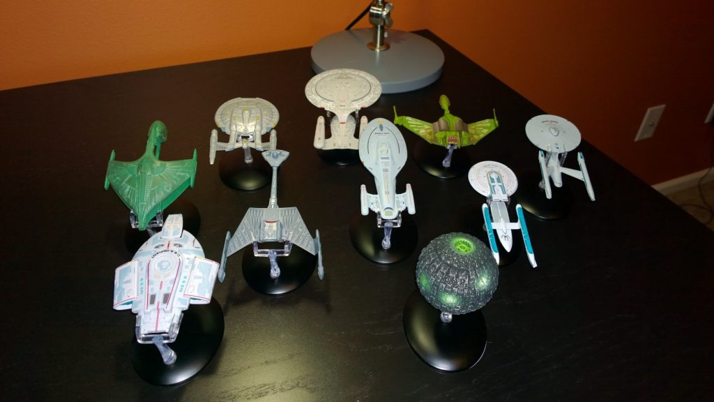 Official Star Trek Starships Collection from Eaglemoss