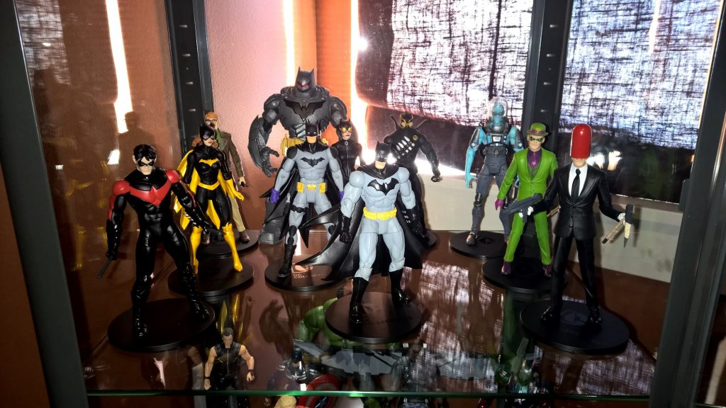 Designer Series Greg Capullo Batman Action Figures