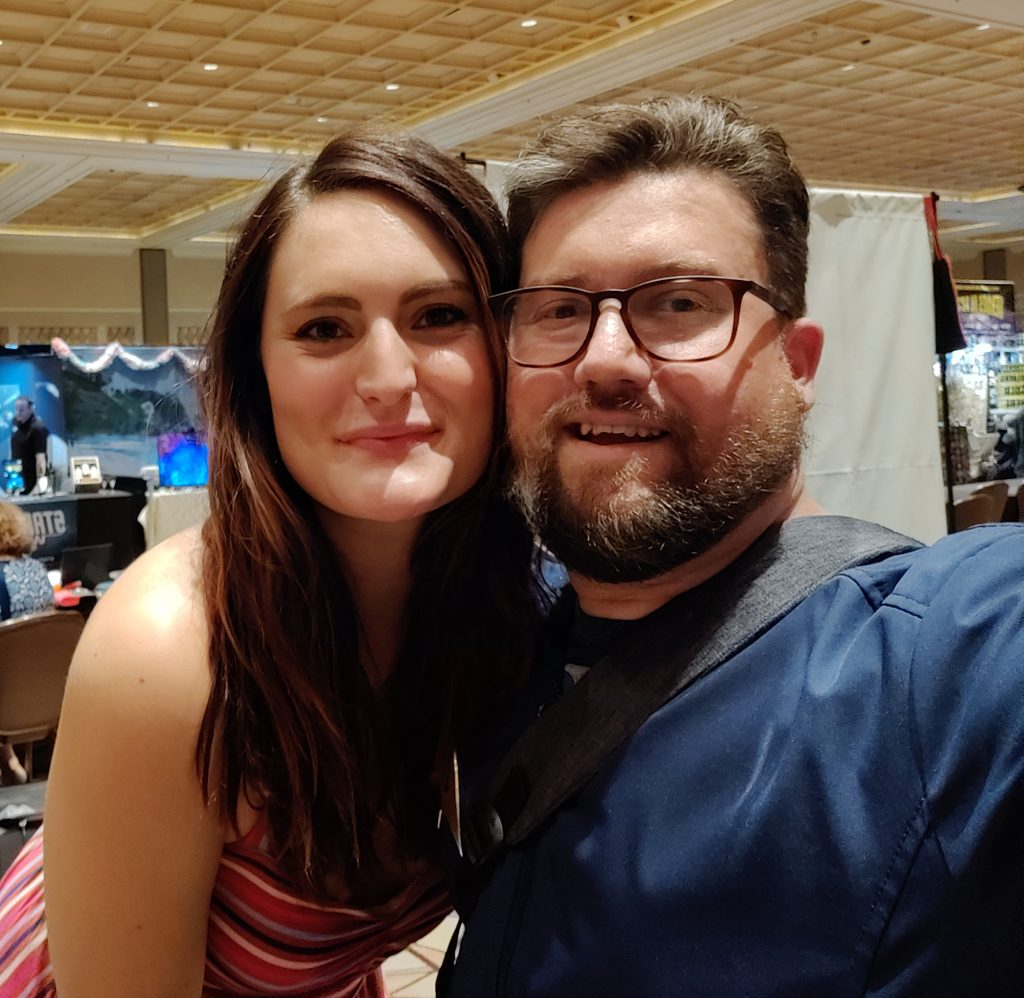 "I got to meet Mary Chieffo who played the kickass Klingon Chancellor L'Rell (or ""Mother"") on the last two seasons of Star Trek: Discovery."