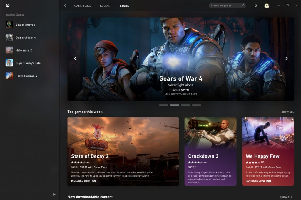 Brand new Xbox app for Windows 10 opens the door to Xbox Game Pass!