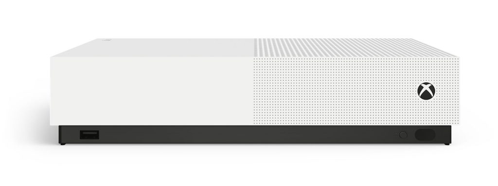 The Xbox One S All-Digital Edition.