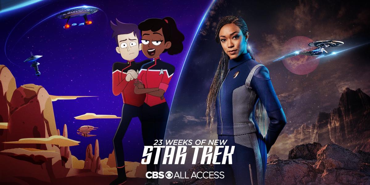 23 weeks of new Star Trek!